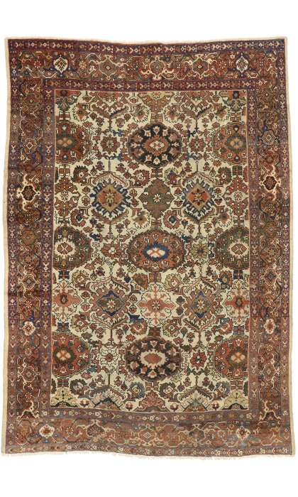 8 x 12 Antique Mahal Rug 72575
