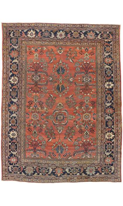 9 x 12 Antique Mahal Rug 73340