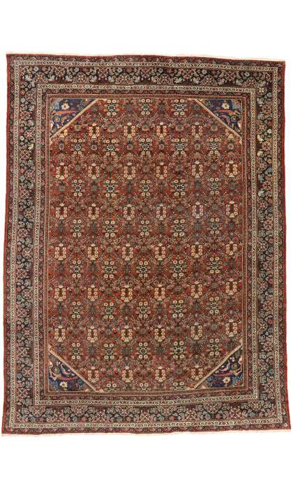 10 x 14 Antique Mahal Rug 73378