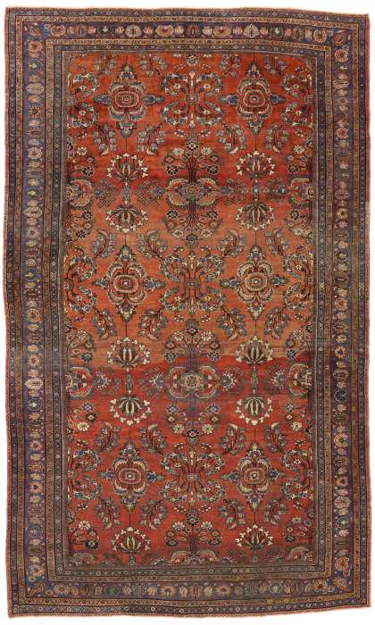10 x 18 Antique Mahal Rug 73381