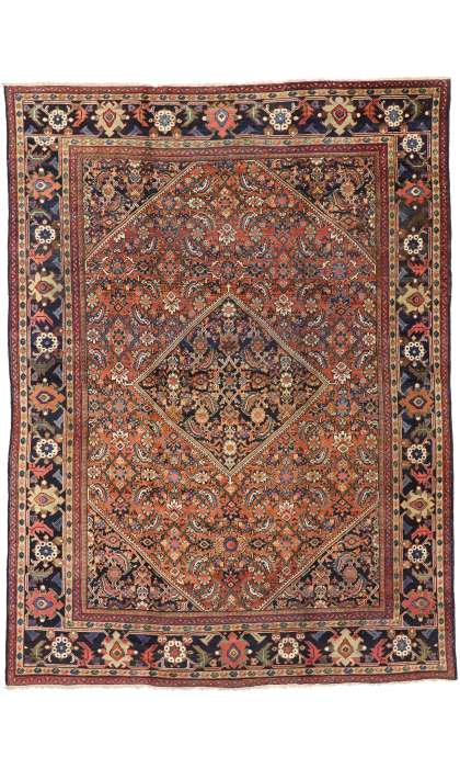 9 x 12 Antique Mahal Rug 73382