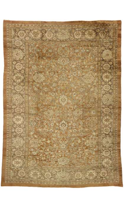 12 x 16 Antique Persian Sultanabad Rug 7368112 x 16 Antique Persian Sultanabad Rug 73681