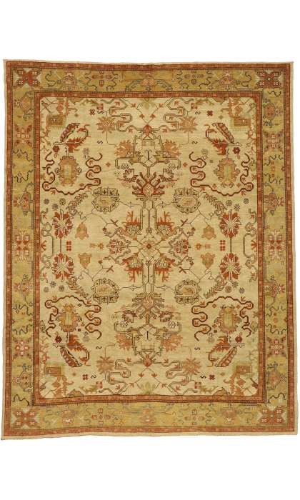 10 x 12 Turkish Oushak Rug 74067