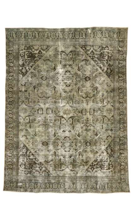 9 x 12 Antique Mahal Rug 76823