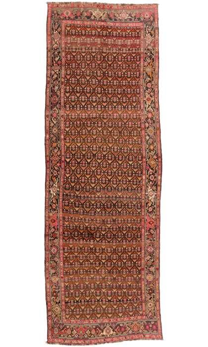 7 x 19 Antique Caucasian Karabakh Rug 77018