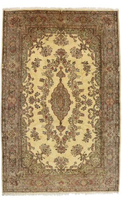 12 x 18 Antique Persian Kerman Rug 77168
