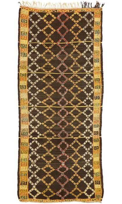 4 x 10 Vintage Moroccan Rug 20196