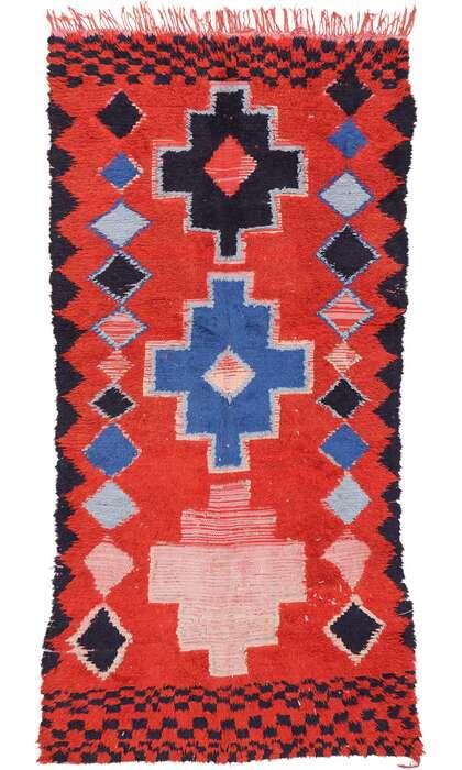 4 x 9 Vintage Moroccan Rug 20219