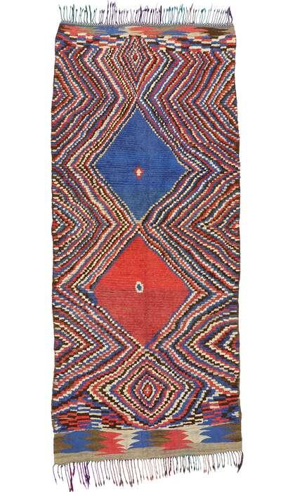 5 x 10 Vintage Moroccan Rug 20250
