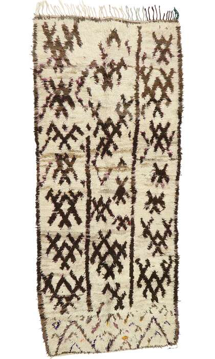 5 x 11 Vintage Moroccan Rug 20293