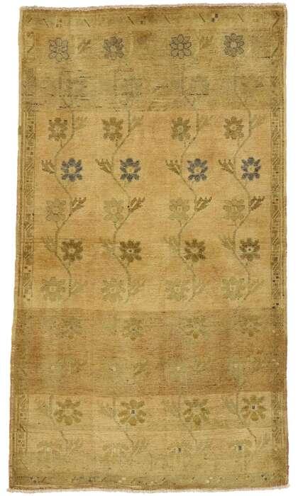 3 x 6 Vintage Oushak Rug 50128