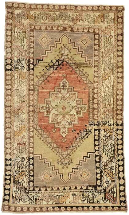 4 x 6 Vintage Oushak Rug 50161
