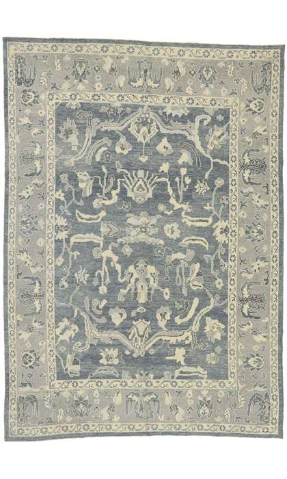 10 x 14 Contemporary Turkish Oushak Rug 5290510 x 14 Contemporary Turkish Oushak Rug 52905