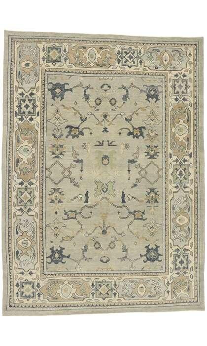9 x 13 Turkish Oushak Rug 52939