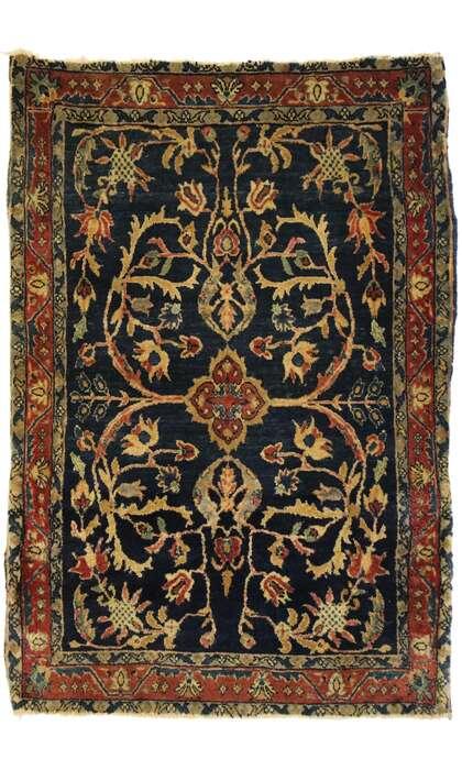2 x 3 Antique Kashan Rug 77424