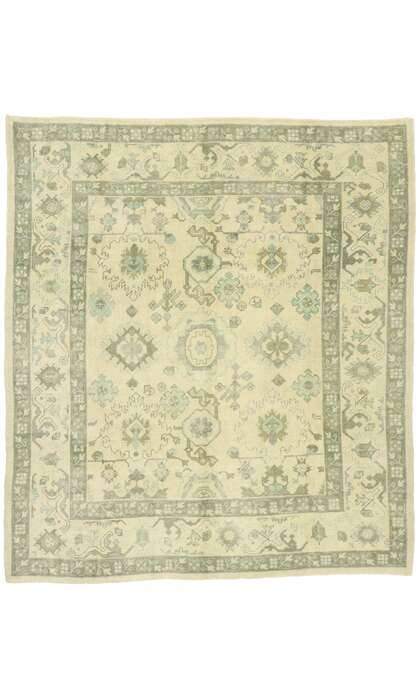 8 x 9 Contemporary Turkish Oushak Rug 52923