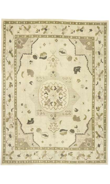 9 x 12 Turkish Oushak Rug 52924
