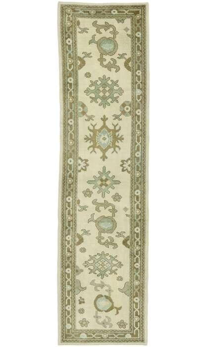 3 x 11 Contemporary Turkish Oushak Rug 52925