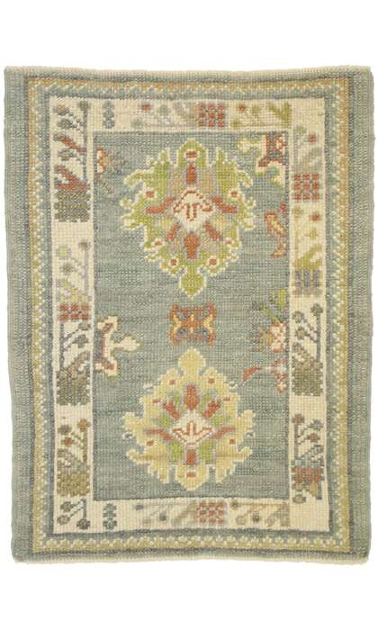 2 x 3 Turkish Oushak Rug 52929