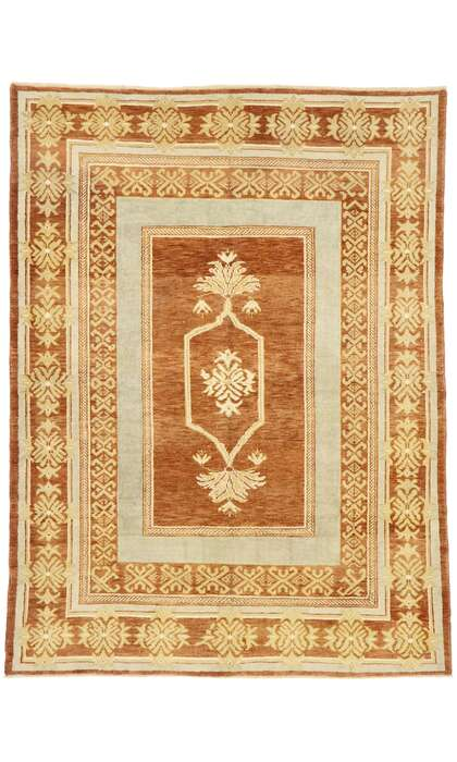 6 x 8 Turkish Oushak Rug 52932