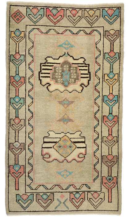 3 x 6 Turkish Oushak Rug 52933