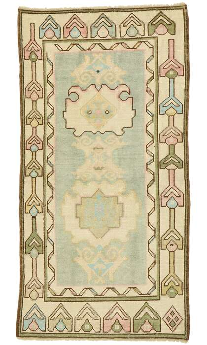 3 x 6 Turkish Oushak Rug 52934