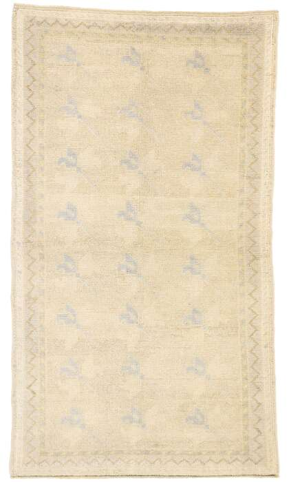 3 x 5 Turkish Oushak Rug 52936