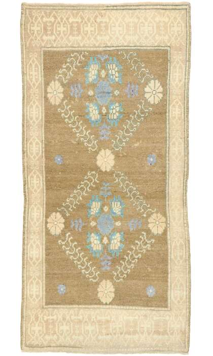 3 x 6 Turkish Oushak Rug 529373 x 6 Turkish Oushak Rug 52937