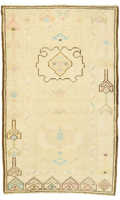 3 x 5 Turkish Oushak Rug 52938