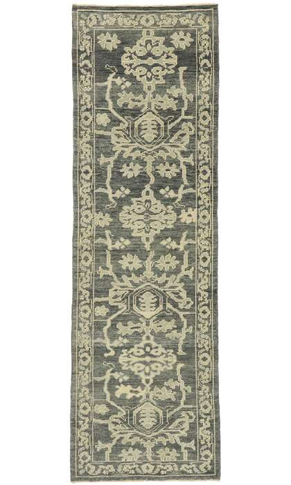 3 x 10 Contemporary Turkish Oushak Runner 52947