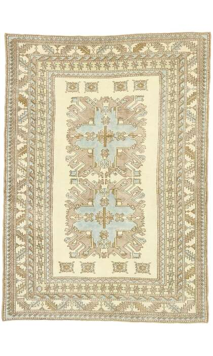 6 x 8 Turkish Oushak Rug 52962