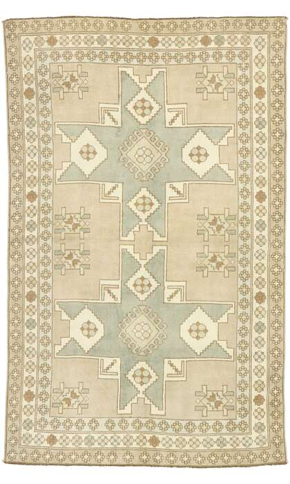 5 x 8 Turkish Oushak Rug 52975