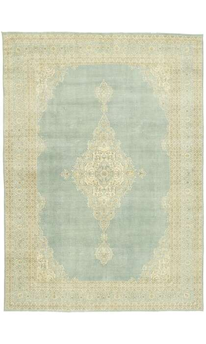 9 x 13 Contemporary Turkish Oushak Rug 52976