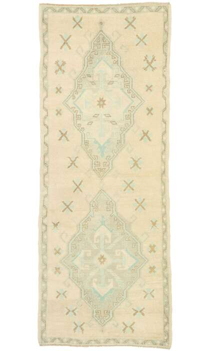 3 x 7 Turkish Oushak Rug 52981