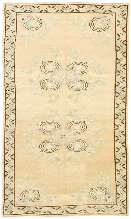 4 x 6 Turkish Oushak Rug 52984