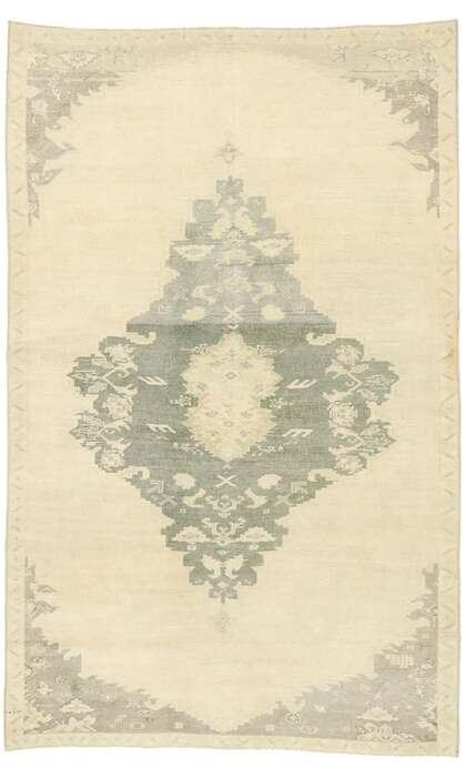 5 x 8 Turkish Oushak Rug 52990