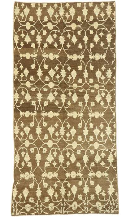 4 x 8 Turkish Oushak Rug 52991