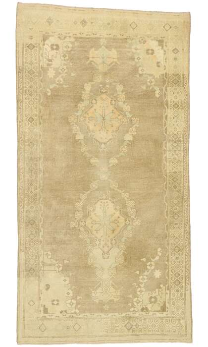 5 x 9 Turkish Oushak Rug 52992