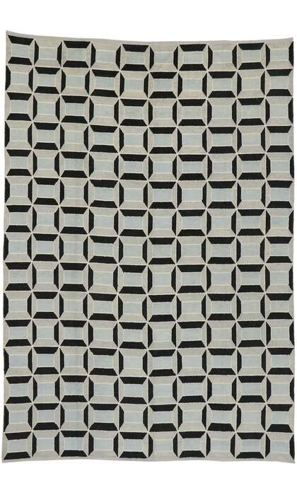 9 x 13 Contemporary Moroccan Rug 52996