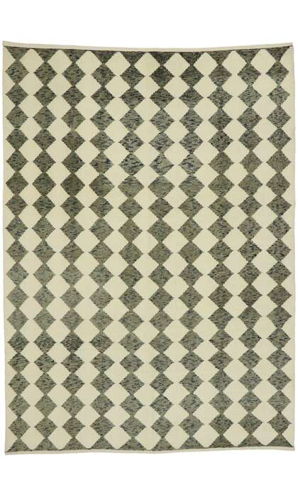 9 x 12 Contemporary Moroccan Rug 52997