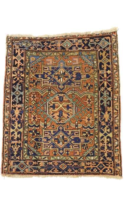 3 x 4 Antique Persian Heriz Rug 73473
