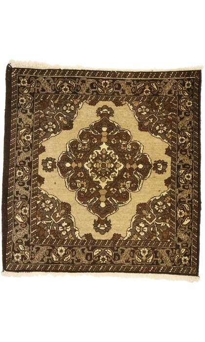 2 x 2 Vintage Khorassan Rug 75162