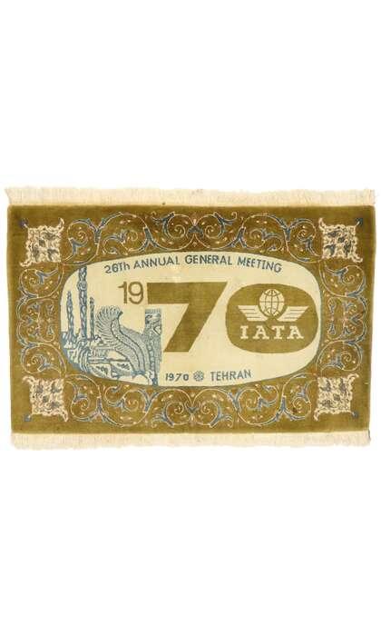 3 x 4 Vintage Kashan Rug 76971