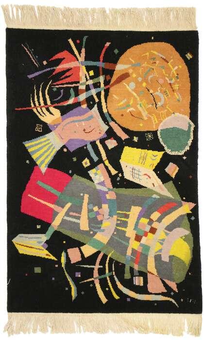 2 x 3 Wassily Kandinsky Style Tapestry 77097