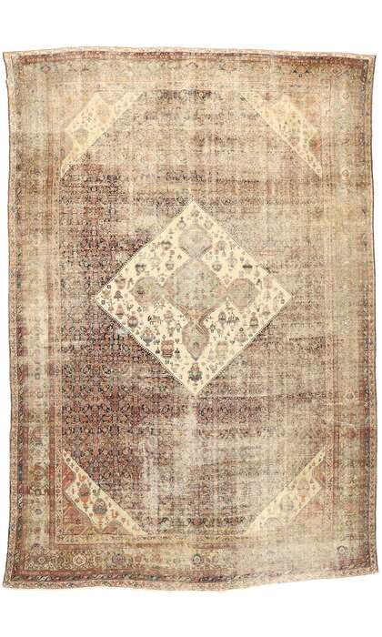 13 x 19 Antique Sultanabad Rug 77471
