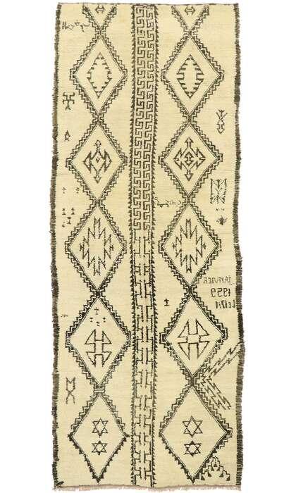 6 x 14 Vintage Moroccan Rug 20046