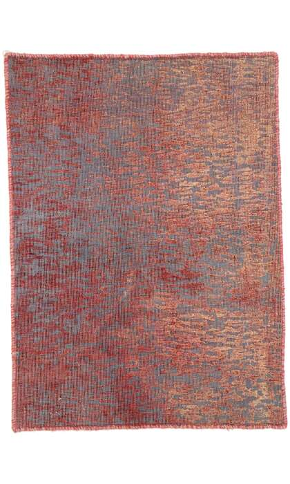 2 x 3 Vintage Overdyed Rug 60737