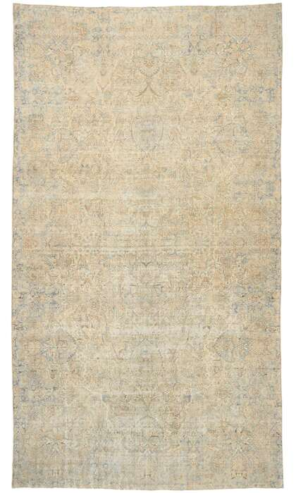 11 x 19 Antique Persian Kerman Rug 76985