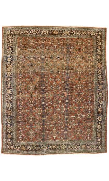 11 x 13 Antique Persian Mahal Rug 77077