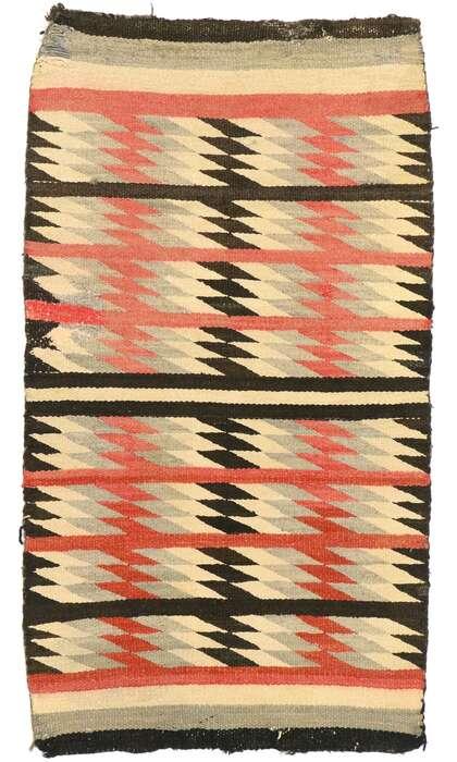 2 x 4 Vintage Navajo Rug 77489